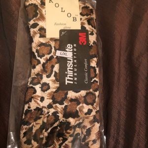 New warm gloves. The animal patterns are in!!!